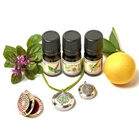 Aromatherapy protection everywhere with a unique aromatic chain