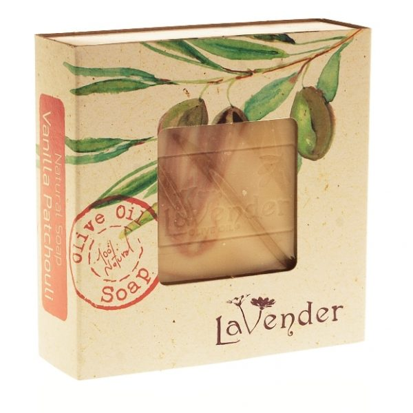 Vanilla Patchouli Natural Soap for the young in spirit, uplifting and stimulating mind and body.