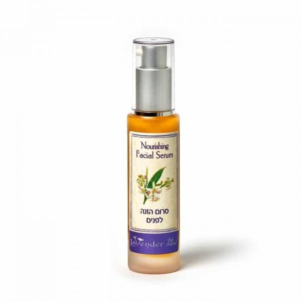 100% Natural Nourishing Facial Serum by lavender cosmetics.