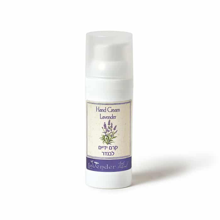 Lavender hand cream for dry hand treatment - Lavender All Natural Cosmetics