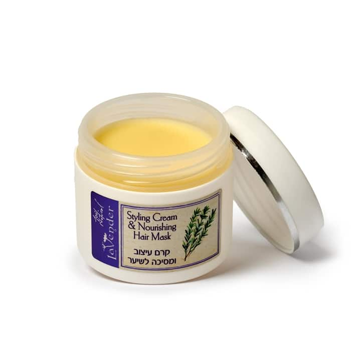 100% natural hair cream to enrich and nourish the hair and scalp.
