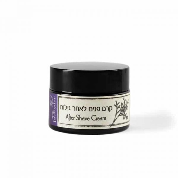 All natural after shave cream from lavender natural cosmetics