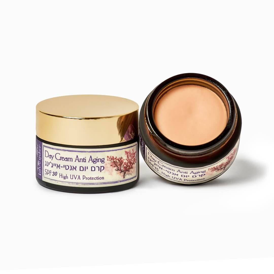 anti aging cream sunscreen SPF30 - lavender all natural