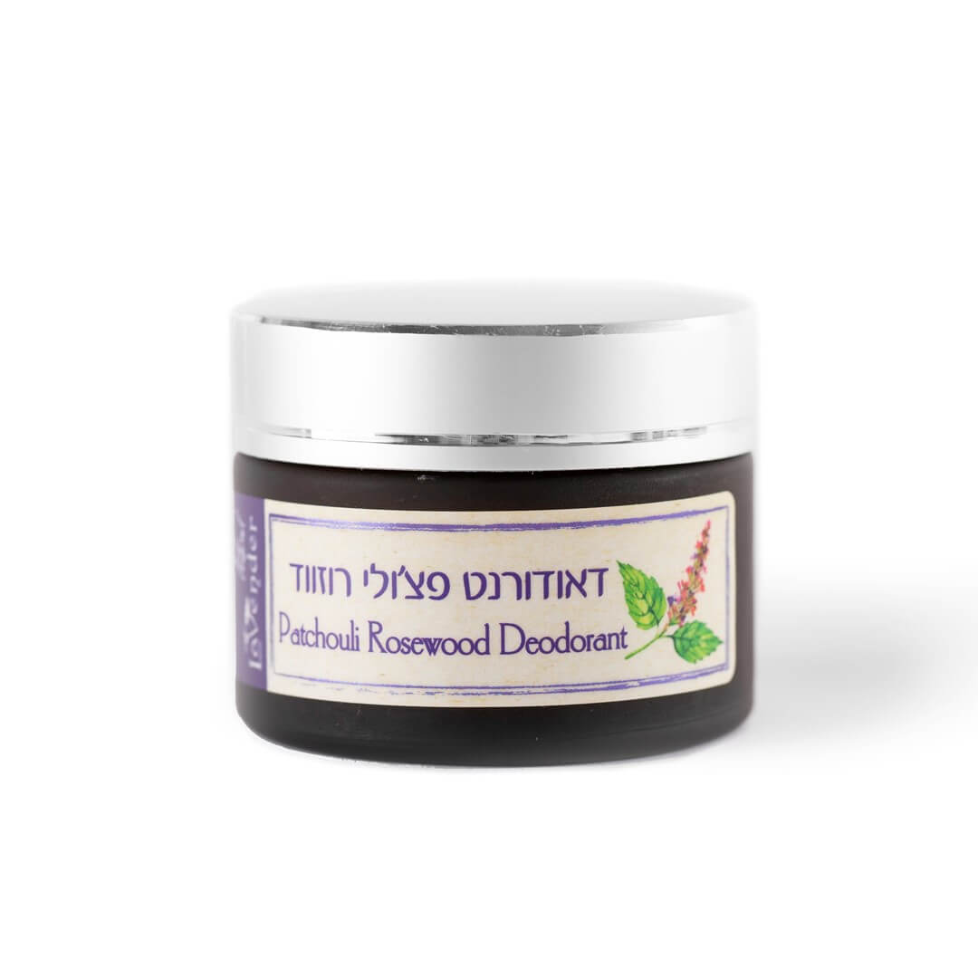 all natural deodorant cream pathcouli rosewood - lavender natural cosmetic