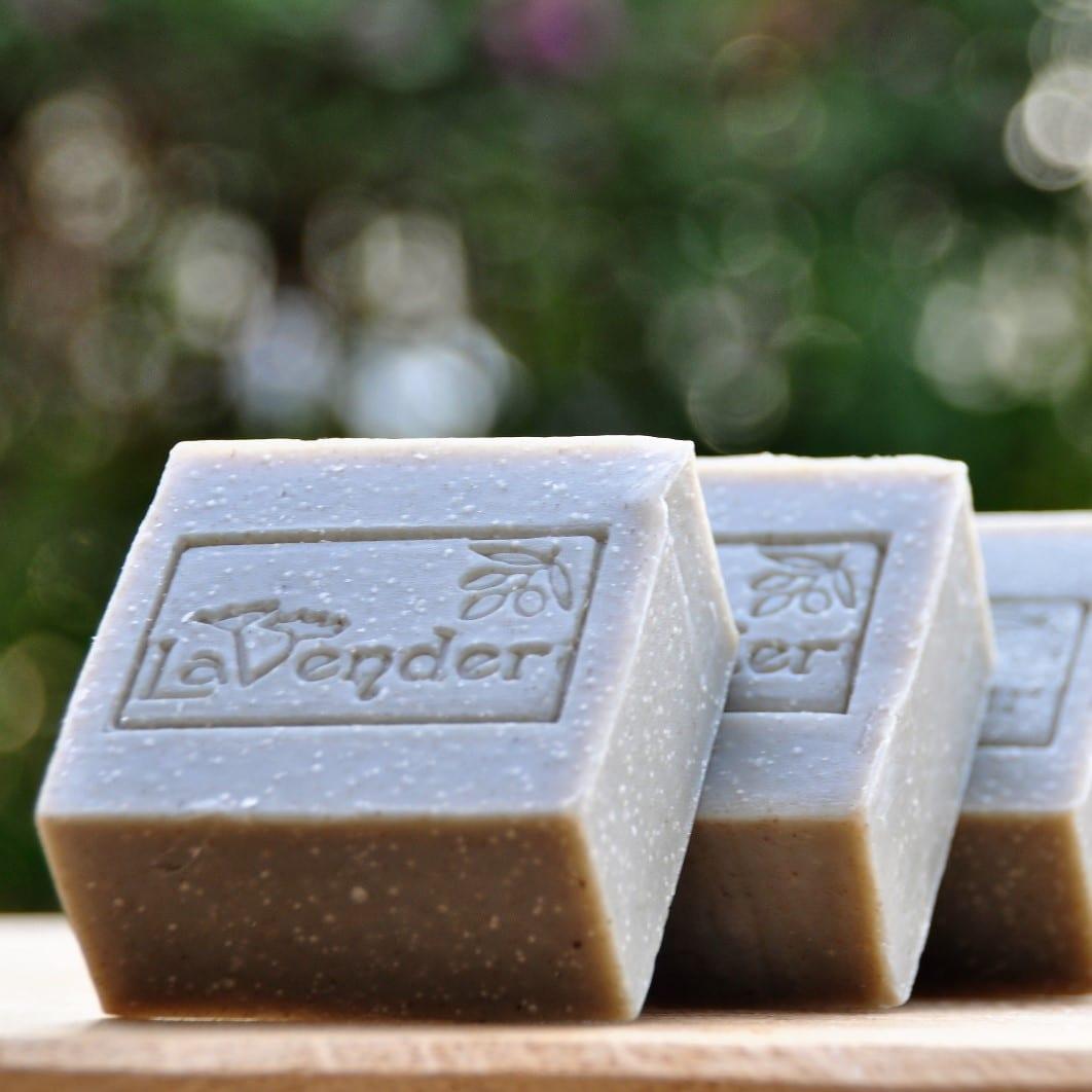 natural deadsea bar soap - lavender all natural cosmetics