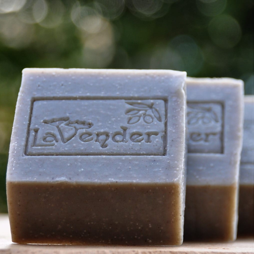 bar deadsea natural soap - lavender all natural cosmetics