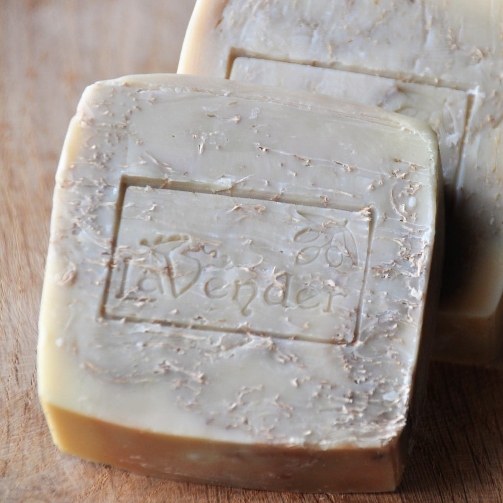Natural olive oil soap by lavender men's skin care series