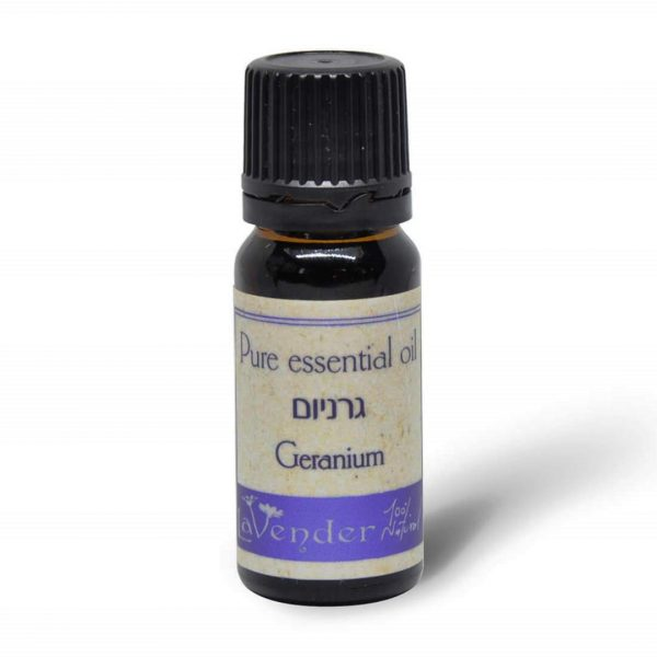 geranium essential oil - lavender natural cosmetic
