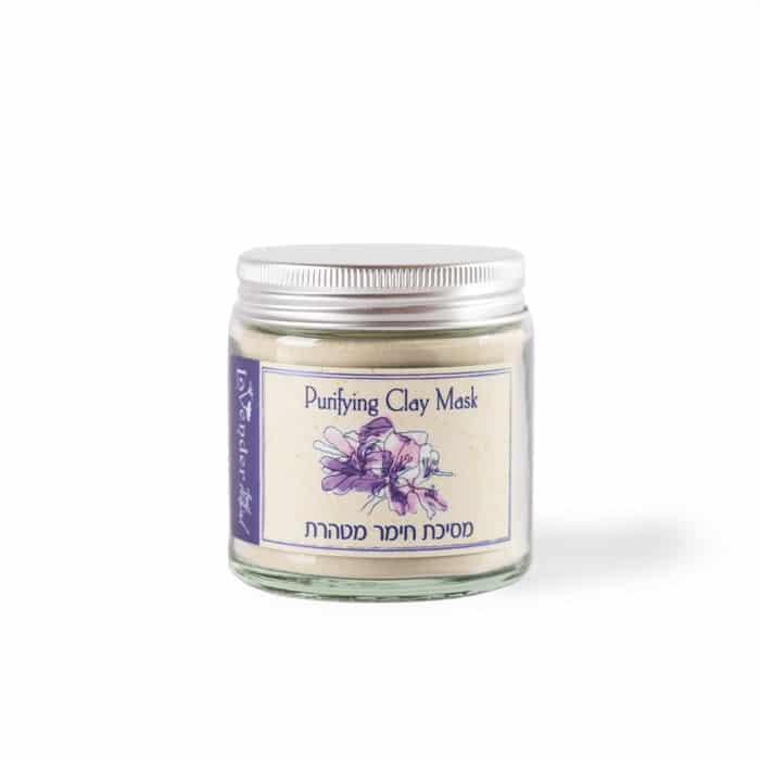 Green clay mask for oily skin and acne prone skin - Lavneder All Natural Cosmetics