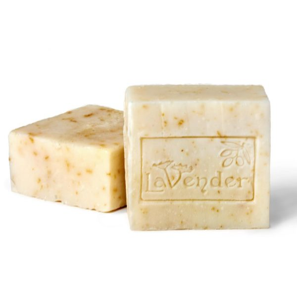 natural lavender and olive oil bar soap
