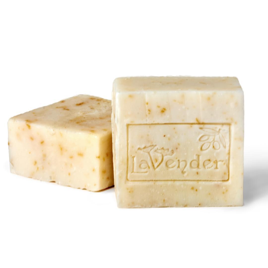 natural lavender and olive oil bar soap