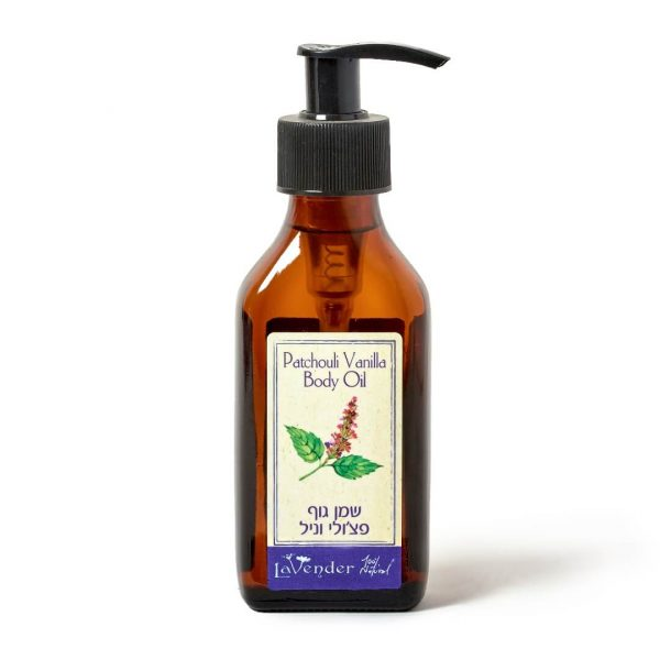 natural body oil patchouli
