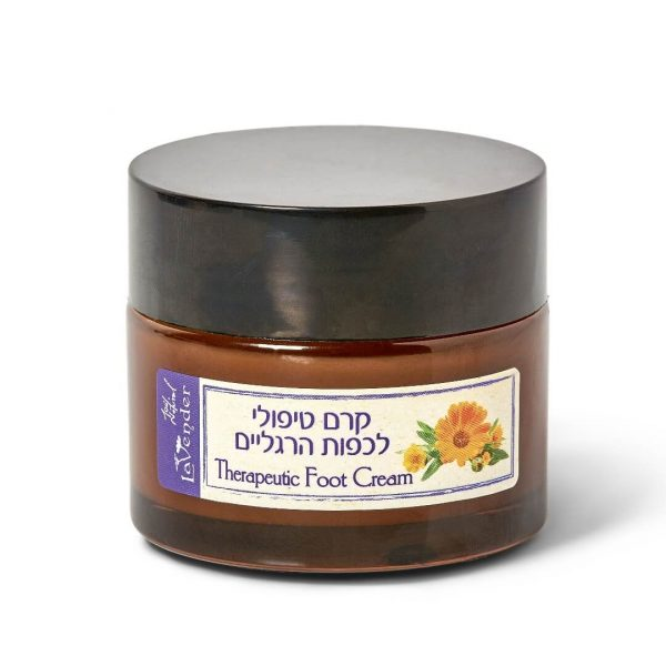 Natural foot cream for dry skin - lavender all natural cosmetics