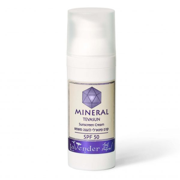 natural mineral sunscreen spf50 - lavender all natural cosmetics