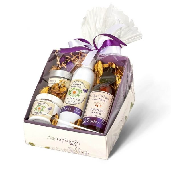 baby and new mother giftbox from lavender all natural cosmetics
