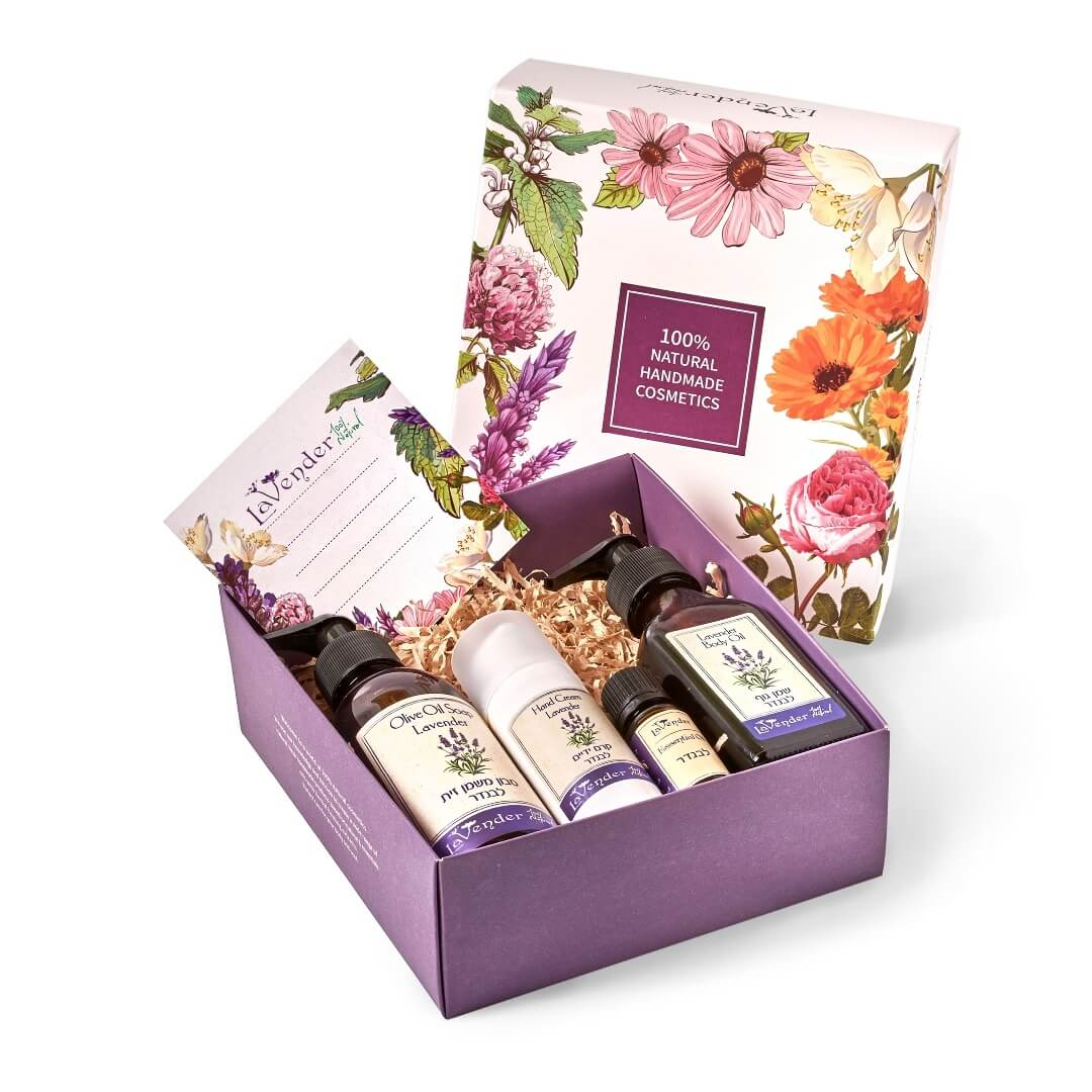 lavender natural gift box