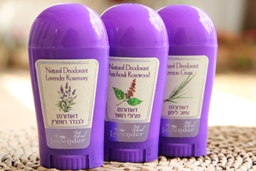 All Natural Deodorants 100% natural and effective
