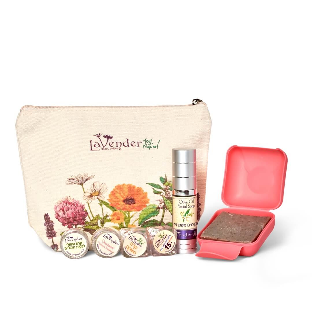 All natural cosmetic trial pack - lavender natural cosmetics